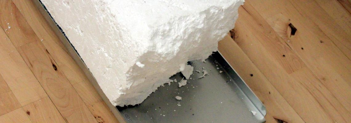 Compacting Expanded Polystyrene